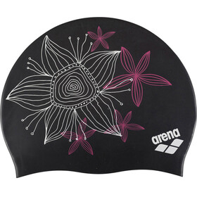 arena Sirene Cap Women hand draw-black